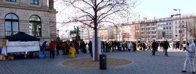 Szenische Katastrophenübung in Braunschweig